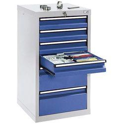 Szafka z szufladami, wys. x szer. x gł. 900x500x500 mm, 4 szuflady o wys. 100 mm