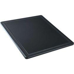 Deska do krojenia HACCP GN 1/2, z wycięciem, czarna | STALGAST, 341327