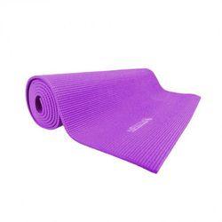 Mata do ćwiczeń JOGI inSPORTline Yoga 173x60x0,5 cm - Kolor fioletowy - produkt z kategorii- Materace, maty,