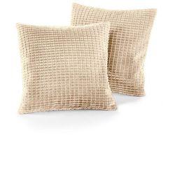 Bonprix Narzuta na sofę w wypukły wzór kremowy