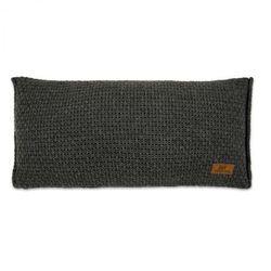Baby's Only, Robust Anthracite Poduszka z tkaną powłoczką, 60x30cm, ciemnoszara