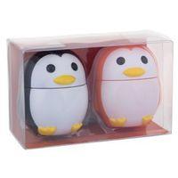2k  hand cream pinguin zestaw krem do rąk 16 g aloe vera + krem do rąk 16 g peach dla kobiet (7775562260546)
