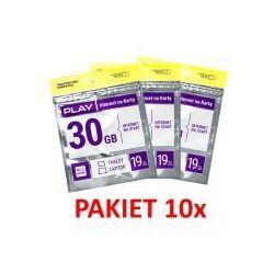 10x starter Play Online LTE 3GB 19zł - sprawdź w wybranym sklepie