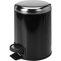 KOSZ ŁAZIENKOWY CZARNY - produkt z kategorii- Pozostałe akcesoria łazienkowe