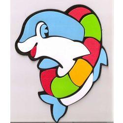 Obrazek - zabawka na ścianę - Delfinek - mały