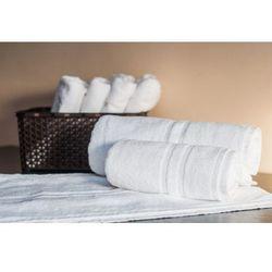 Slevo Ręcznik hotelowy lux 450 gr/m2 70x140 cm biały 100% bawełny egipskiej