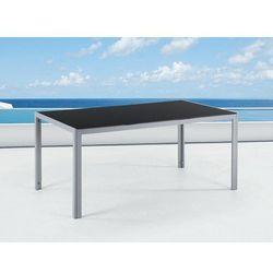 Elegancki stół aluminiowy, meble ogrodowe catania marki Beliani