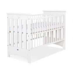 My sweet baby Łóżeczko dla niemowląt, lorenzo iii / białe, 60x120cm, dostawa gratis,
