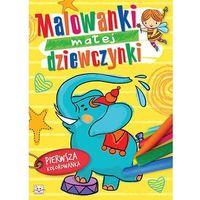 Malowanki małej dziewczynki + zakładka do książki GRATIS (9788377138397)