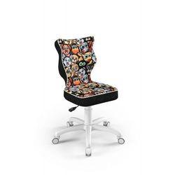 Krzesło dziecięce na wzrost 133-159cm petit biały st28 rozmiar 4 marki Entelo