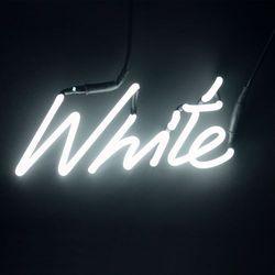 Shades - kinkiet neonowy biały
