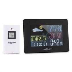 Oneconcept  uddevalla stacja pogodowa sterowana radiowo baterie alarm czujnik zewnętrzny
