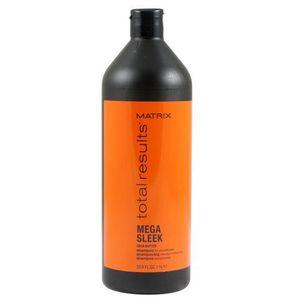 Matrix Total Results Mega Sleek Shampoo - Szampon przeciw puszeniu włosów z masłem Shea 1000 ml