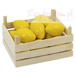 Owoce w skrzynce, cytryny, 10 elementów. - produkt z kategorii- skrzynki i walizki narzędziowe