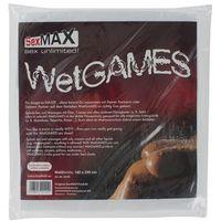JoyDivision SexMAX WetGAMES Sex-Laken 180 x 220 (białe), 5205403