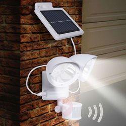 Globo Maex – lampa solarna na ścianę, 2-punktowa