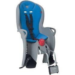 Fotelik rowerowy Hamax SLEEPY szary, niebieska wyściółka (7029775515246)