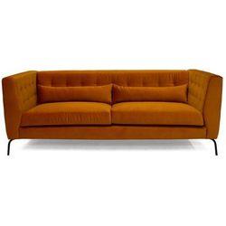 9design Sofa 3-osobowa siena pomarańczowa