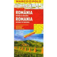 Rumunia . Mapa Marco Polo w skali 1:800 000, praca zbiorowa