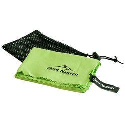 Ręcznik super szybkoschnący tramp light l zielony marki Fjord nansen