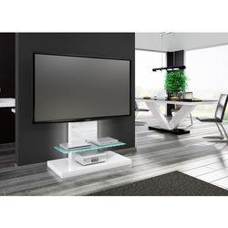 Stolik RTV MARI MAX biały lub czarny 100/134/55 cm