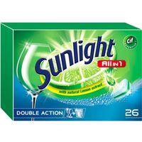 Unilever SUNLIGHT Tabletki do zmywarki (667961) Darmowy odbiór w 20 miastach! (8710908667961)