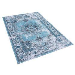 Dywan niebieski 160 x 230 cm krótkowłosy ALMUS
