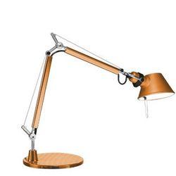 a011860 tolomeo micro lampa biurkowa pomarańczowa marki Artemide