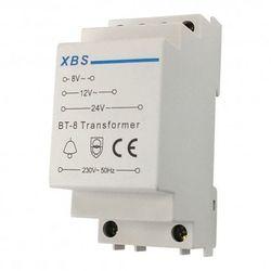 Transformator dzwonkowy na szynę 230 / 8 / 12 / 24 V AC XBS-CST 1407 - sprawdź w wybranym sklepie