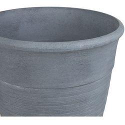 Doniczka szara 43 x 43 x 49 cm KATALIMA (4251682210171)