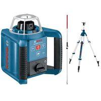 Bosch niebieski Niwelator laserowy bosch grl 300 hv - ze statywem i łatą
