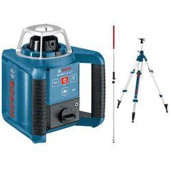 Niwelator laserowy bosch grl 300 hv - ze statywem i łatą wyprodukowany przez Bosch niebieski