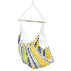 Fotel hamakowy, żółto-niebieski Relax