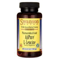 Swanson AjiPure L-Leucyna 500mg 60 kaps., SWANSON