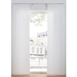 Zasłona panelowa (1 szt.) bonprix biały