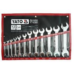 Zestaw kluczy płaskich YATO YT-0381 6 - 32 mm (12 elementów)