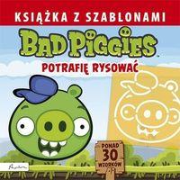 Bad Piggies. Książka z szablonami. Potrafię rysować, PAPILON