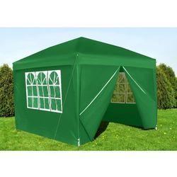 Pawilon ogrodowy składany 4 śc. 3x3 zielony p5535 marki Malatec