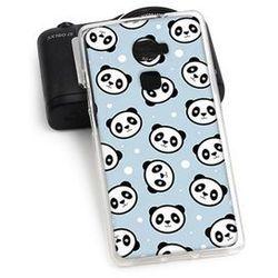 Fantastic Case - Huawei Mate S - etui na telefon Fantastic Case - panda na niebieskim tle (Futerał telefonicz