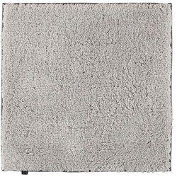 Dywanik łazienkowy gładki 60 x 60 cm platynowy antypoślizgowy marki Cawo