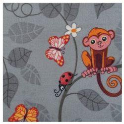 Wykładzina dywanowa Happy Animals 4 m szara (5907736261741)