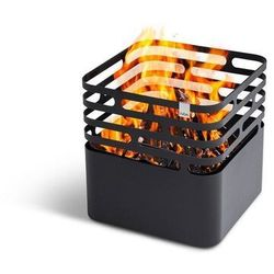 Hoefats Palenisko cube stalowe czarne