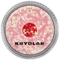 Kryolan  polyester glimmer coarse (pastel pink) gruby sypki brokat - pastel pink (2901)