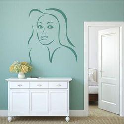 Szablon do malowania twarz kobiety 2038