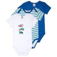 Jacky Baby KURZARM MULTIPACK BOYS BABY 3 PACK Body blue