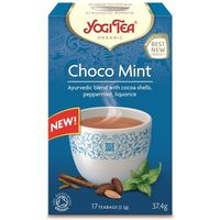 Herbatka ekspresowa Choco Mint z kakao i miętą BIO 17 x 2,2g YOGI TEA (4012824402850)