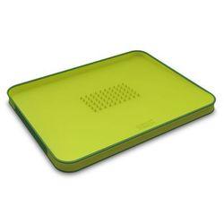 Joseph joseph - cut&carve deska do krojenia zielona wymiary: 37,5 x 29,5 x 2,5 cm