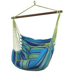 Fotel hamakowy szeroki, Niebieski HC10