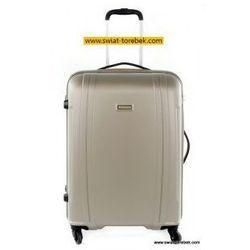 PUCCINI walizka duża z kolekcji PC015 twarda 4 koła materiał Policarbonite zamek szyfrowy z systemem TSA