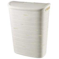 Kosz na bieliznę 49 l ribbon (biały) marki Curver
